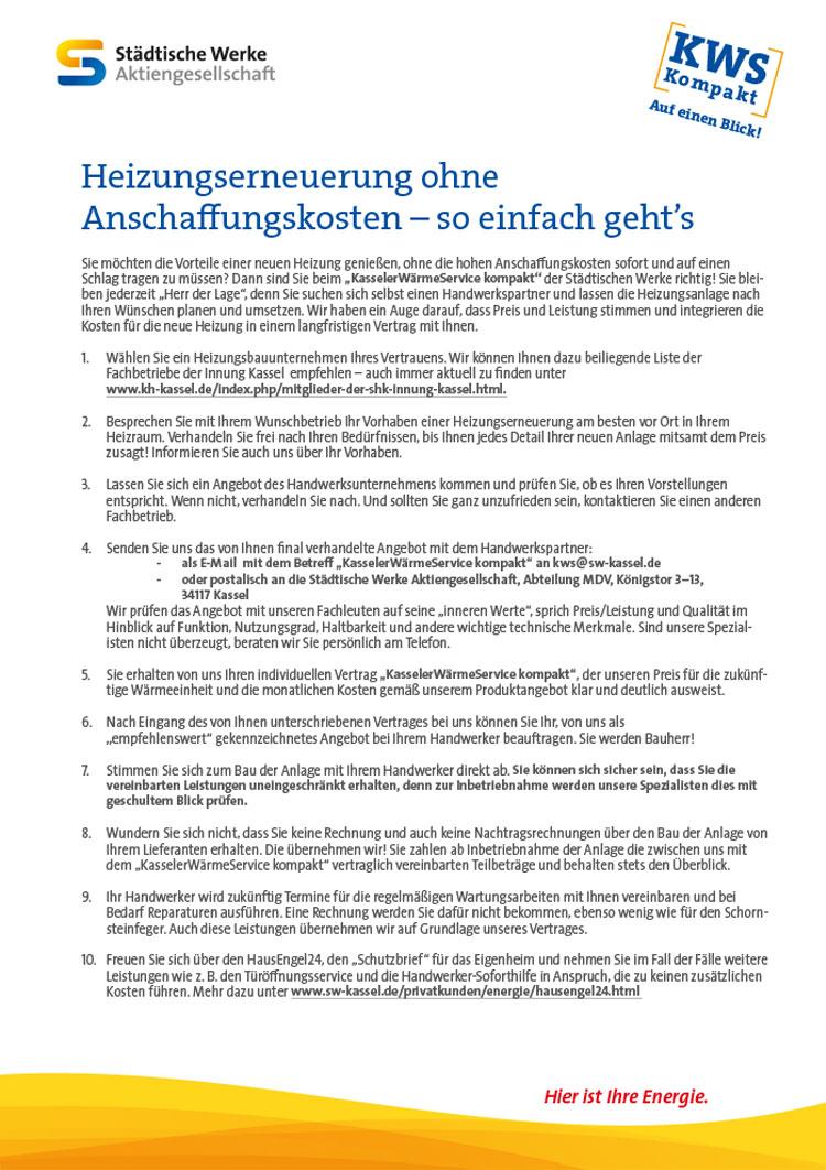 Kws Kompakt Städtische Werke Ag Kassel